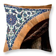 Iznik 17 Throw Pillow