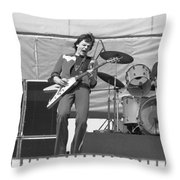 J. Geils At Day On The Green 1976 Throw Pillow