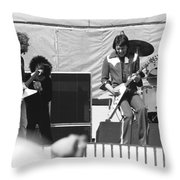 Day On The Green 6-6-76 Throw Pillow