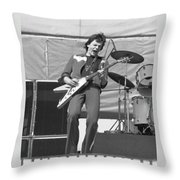 J. Geils In Oakland 1976 Throw Pillow