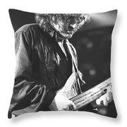 Jack Bruce Throw Pillow