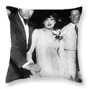 Jack Dempsey & Estelle Taylor Throw Pillow