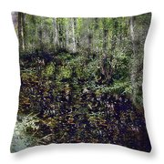 Jack Kell's Woods Throw Pillow
