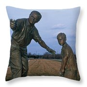 36u-245 Jack Nicklaus Sculpture Photo Throw Pillow