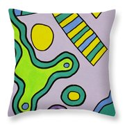Jack Out Of The Box Throw Pillow