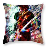 Jack White Original Painting Print Throw Pillow