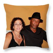 Jackie And James Party 46 Throw Pillow