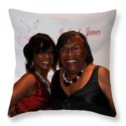Jackie And James Party 48 Throw Pillow