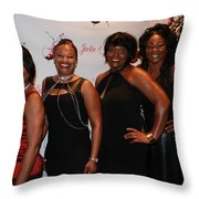 Jackie And James Party 49 Throw Pillow