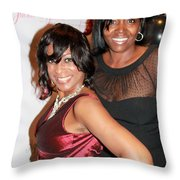 Jackie And James Party 67 Throw Pillow