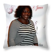 Jackie And James Party 74 Throw Pillow