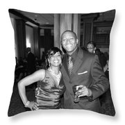 Jackie And James Party 75 Throw Pillow