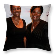 Jackie And James Party 76 Throw Pillow