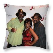 Jackie And James Party 82 Throw Pillow