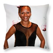 Jackie And James Party 84 Throw Pillow