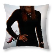 Jackie And James Party 86 Throw Pillow