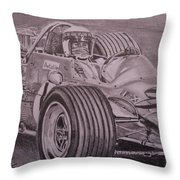 Jackie Stewart  Throw Pillow