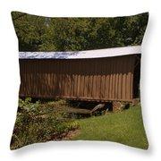 Jack's Creek Bridge Throw Pillow