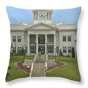 Jackson County Courthouse Throw Pillow