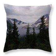 Jackson Glacier Throw Pillow