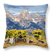 Jackson Hole Throw Pillow