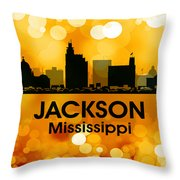 Jackson Ms 3 Throw Pillow