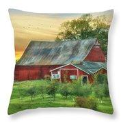 Jackson Orchard Throw Pillow