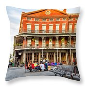 Jackson Square Reading Throw Pillow