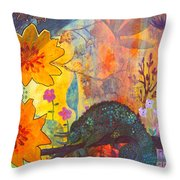 Jackson's Chameleon Throw Pillow