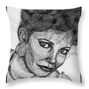 Jaclyn Smith In 1985 Throw Pillow by J McCombie