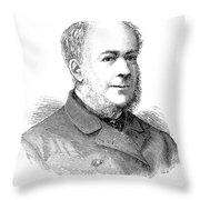 Jacob Pleydell-bouverie (1815-1889) Throw Pillow