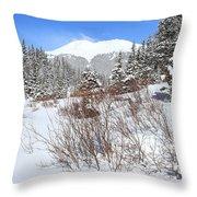 Jacque Peak Throw Pillow