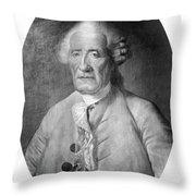 Jacques De Vaucanson (1709-1782) Throw Pillow