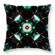Jade Reflections - 2 Throw Pillow