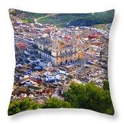 Jaen Cathedral Throw Pillow