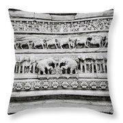 Jagdish Temple Throw Pillow