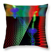 Jagg3d 3dge Throw Pillow