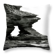 Jagged Edge Throw Pillow