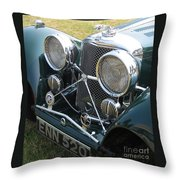 Jaguar Ss100 Throw Pillow