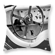 Jaguar Steering Wheel 2 Throw Pillow