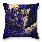 Jaguar- The Spirit Of Belize Throw Pillow