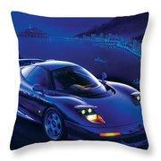Jaguar Xjr-15 Throw Pillow