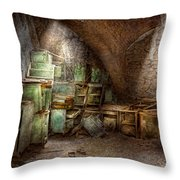 Jail - Eastern State Penitentiary - Cabinet Members  Throw Pillow