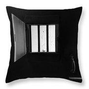 Jail Throw Pillow
