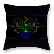 Jais' Koddy Leaf Throw Pillow