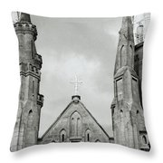 Jakarta Cathedral  Throw Pillow