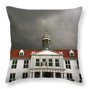 Jakarta Town Hall Throw Pillow
