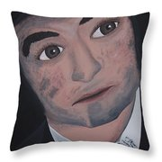 Jake Blues Throw Pillow