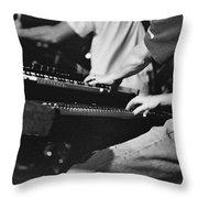 Jam Band Throw Pillow