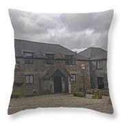 Jamaica Inn Bodmin Moor Throw Pillow